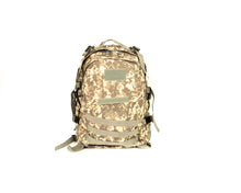 Tactical Military Backpack Brown Camo