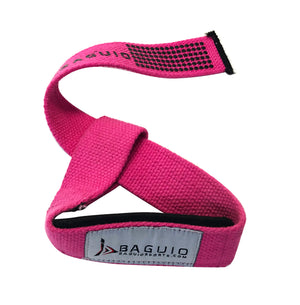 Baguio Sports-Weight & Bodybuilding Lifting Straps (Pink)