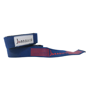 Baguio Sports-Weight & Bodybuilding Lifting Straps (Blue)