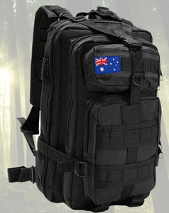 Tactical Bag 30l Black