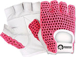 Baguio Sports Weightlifting  and Training Gloves Pink/white