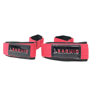 Figure 8 Weightlifitng Straps Red