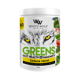 White Wolf - Greens + Gut Health & Immunity - Lemon Twist