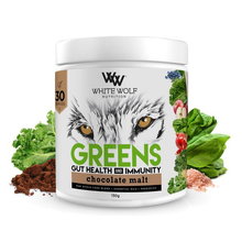 White Wolf - Greens + Gut Health & Immunity - Chocolate Malt