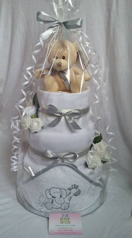 3 Tier Nappy Cake