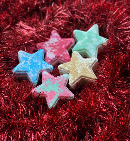 Christmas Star Bath Bombs