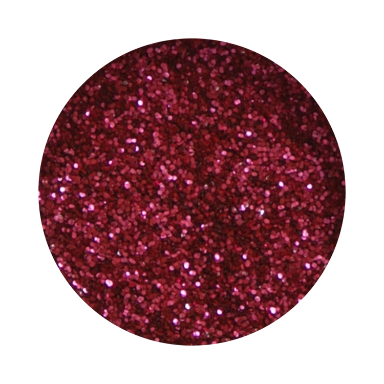 Berry Red Glitter