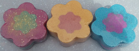 Flower Power Bath Bombs