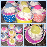 Cupcake Bath Bomb & Soap Duo's