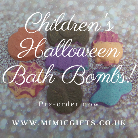 Box of 6 Children's Halloween Bath Bombs