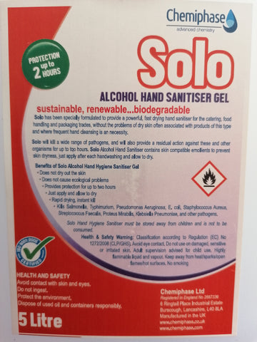 """Alcohol hand sanitiser gel"