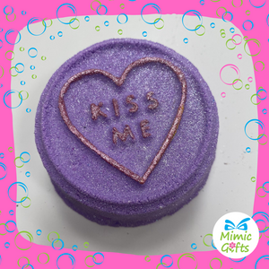 Love Hearts - Bath Bombs