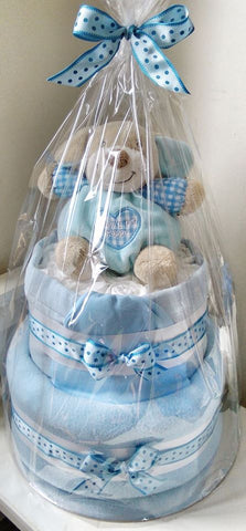 2 Tier Nappy Cake