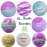 Luxury XL Bath Bombs