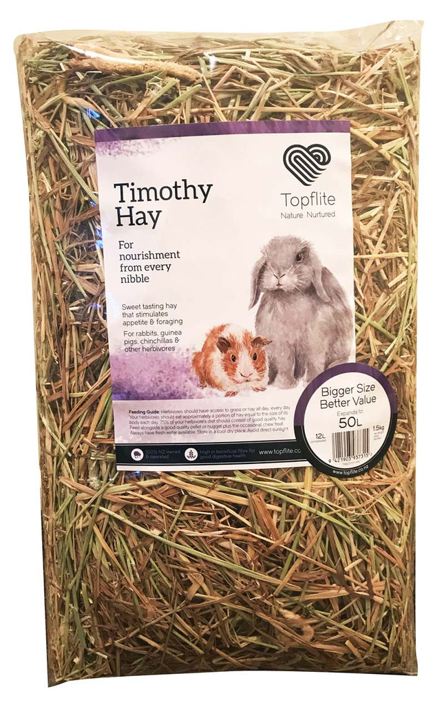 Timothy Hay by Topflite - for rabbits and guinea pigs