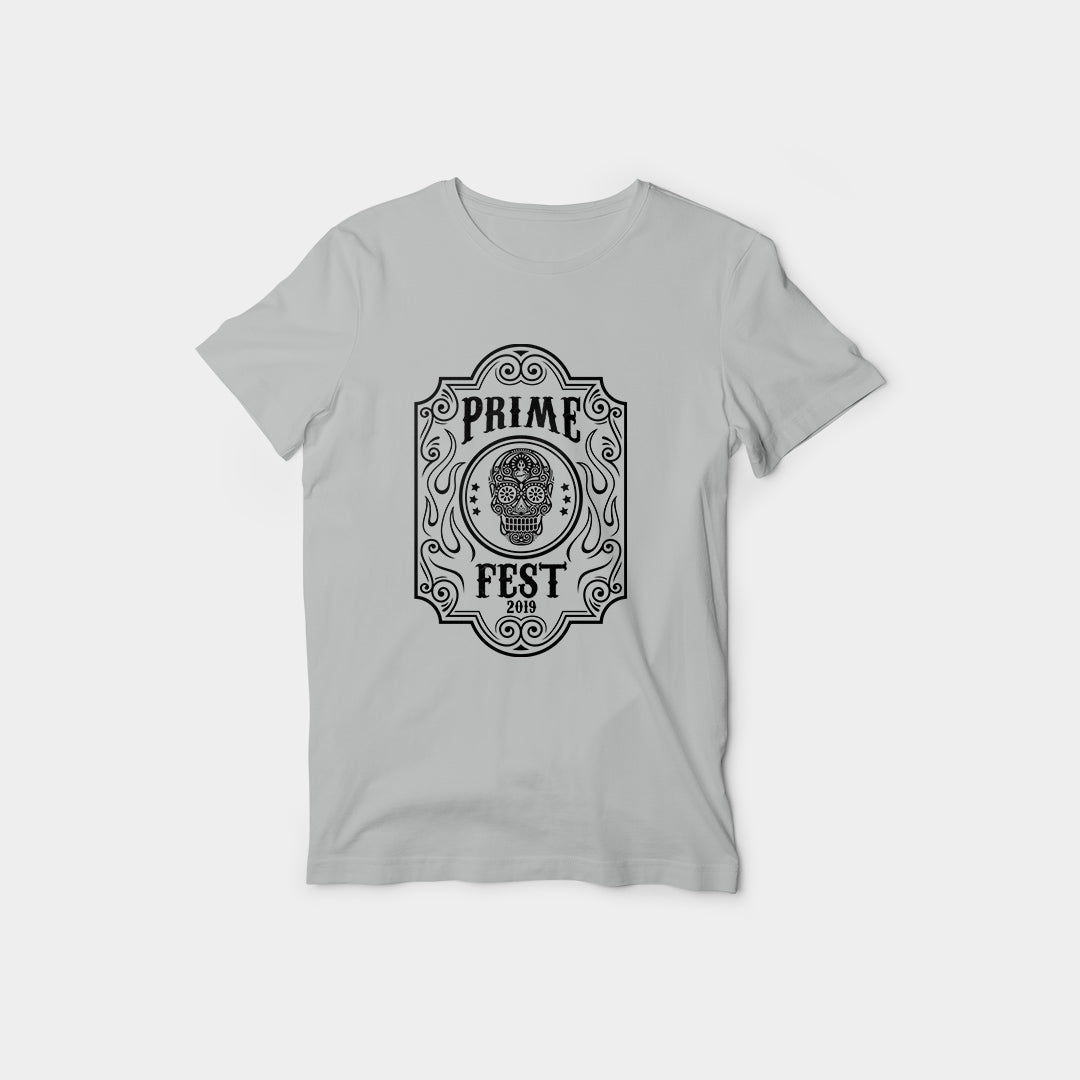 Ladies Prime Fest Tee Grey