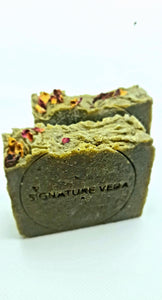 Rustic Luxury Charcoal Silk Soap Natural Skincare