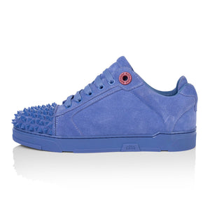 Luisa Triangle Blue Suede