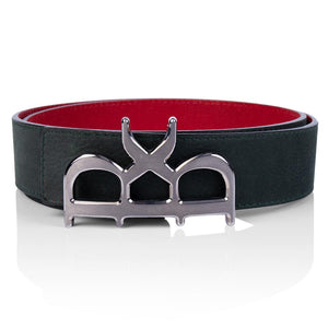 YVES Belt Men Green Silver