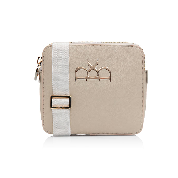 Neale Messenger Bag Beige