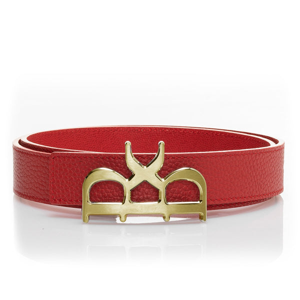YVES Belt Women Rouge Gold