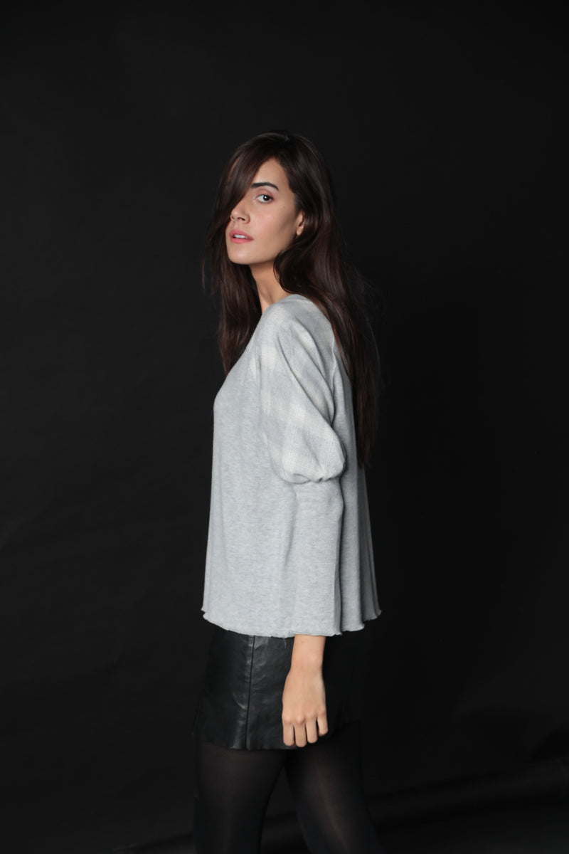 Lila Puff Sleeve Top