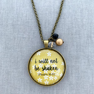 i will not be shaken: floral