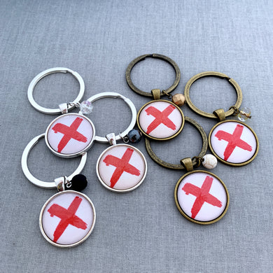 human trafficking awareness keychain
