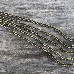 bronze vintage chains