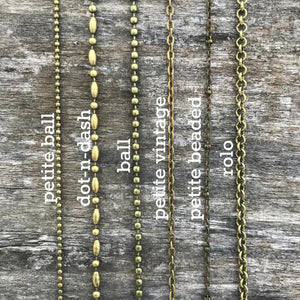 bronze specialty chains