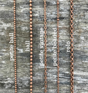 copper specialty chains