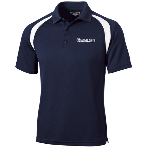 Charlie Mike Moisture-Wicking Golf Shirt