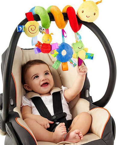 Hanging Spiral Rattle for Crib/Stroller/Car Seat