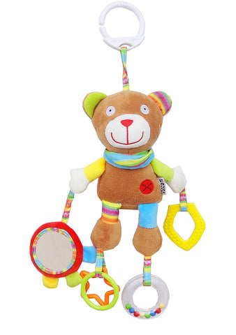 Crib & Stroller Rattle - Bear