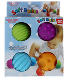 Sensory Educational Soft Ball - 4 Pcs