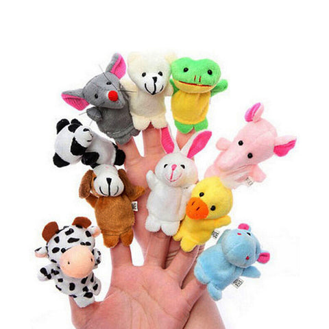 Play 'n' Learn Animal Finger Puppets