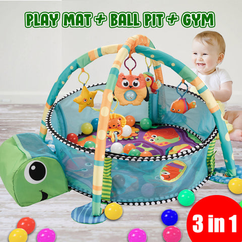Activity Gym and Ball Pitt