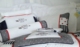 Be Brave Themed Cot Bedding Set