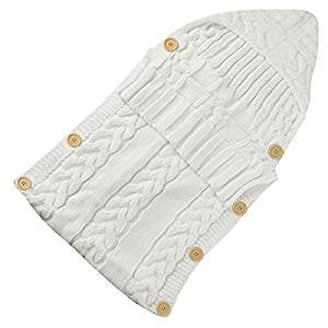 Knitted Sleeping Bag - Pearl