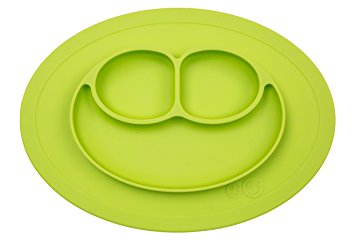 Silicon Baby Plate - Green