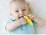 Baby Banana Toothbrush & Teether