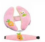 Adjustable Head Support Cushion - Pink