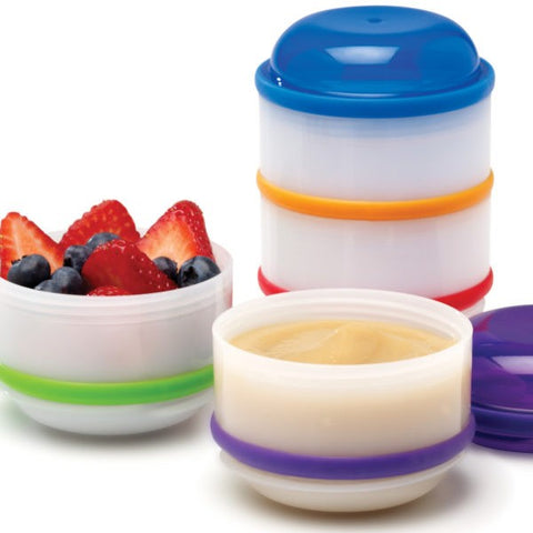 Dr. Brown's Snack-A-Pillar - Snack and Dipping Cups - 4 Count