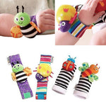 Socks and Wrist Band- Set of  4 Pcs