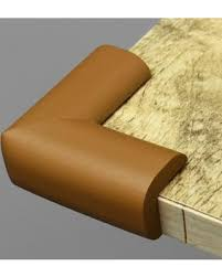 Corner Cushion - Brown - 2 Pcs