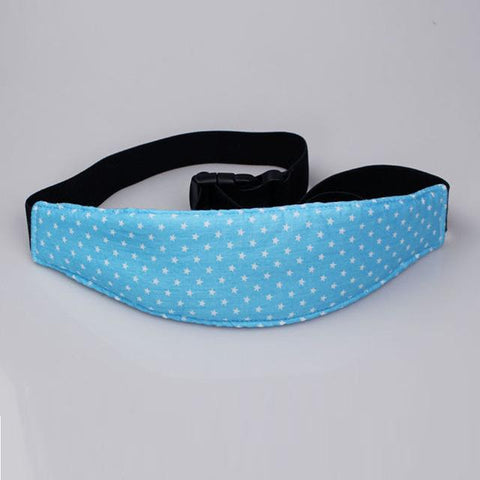 Adjustable Head Support Strap - Blue