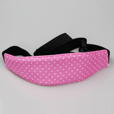 Adjustable Head Support Strap - Pink