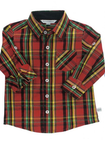 Remington Plaid Button Down Shirt