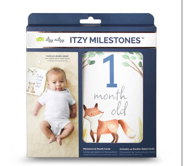 Double-Sided Milestone Cards Woodland