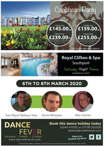 Caribbean Line Dance Weekend 2020 - Dance Fever Holidays